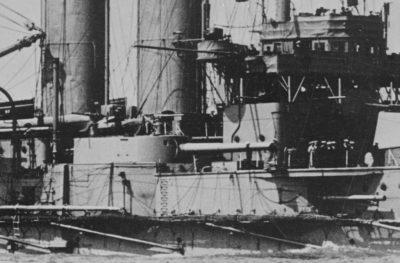 ГМС Король Эдвард VII Анзихт средней артиллерии