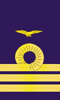Il rango di comandante dell'ala della marina militare