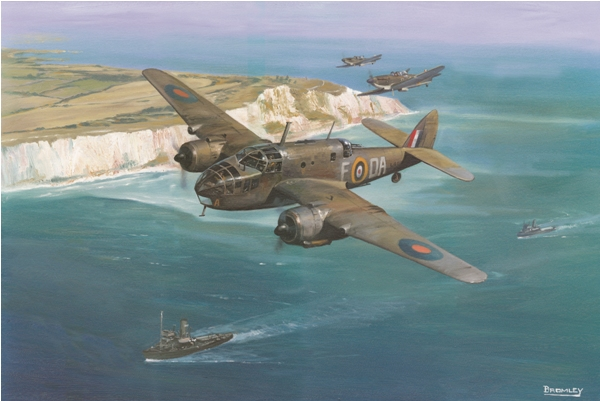 Bristol Beaufighter - by Mark Bromley