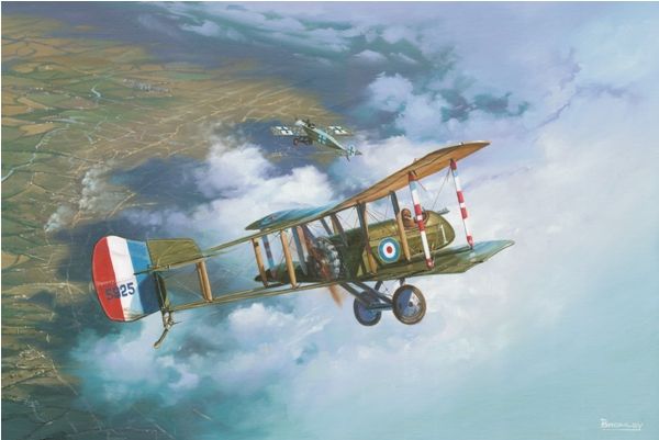 DH2 Lanoe Hawker - Military Times - Mark Bromley