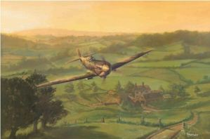 Spitfire Dawn - by Mark Bromley