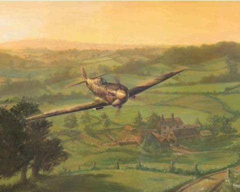 Spitfire Dawn - by Mark Bromley