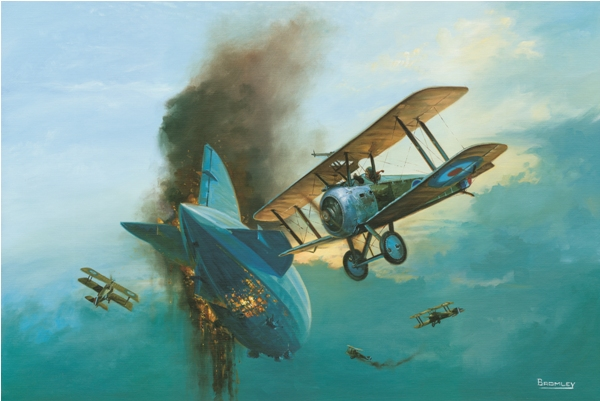 Sopwith Camel Attack picture - Military Times - Mark Bromley