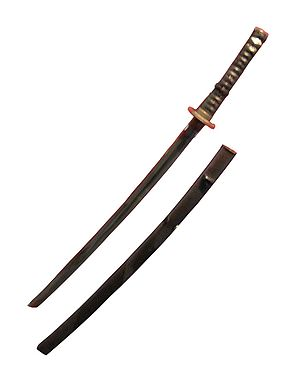 Katana. Dresden, Zwinger-Museum. 16th or 17th century.