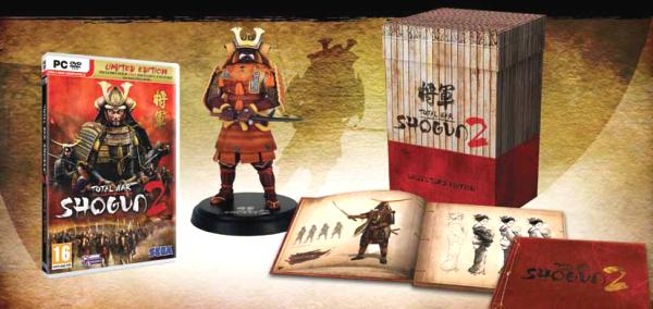 Pc total war: shogun 2 getting 'limited edition' release.