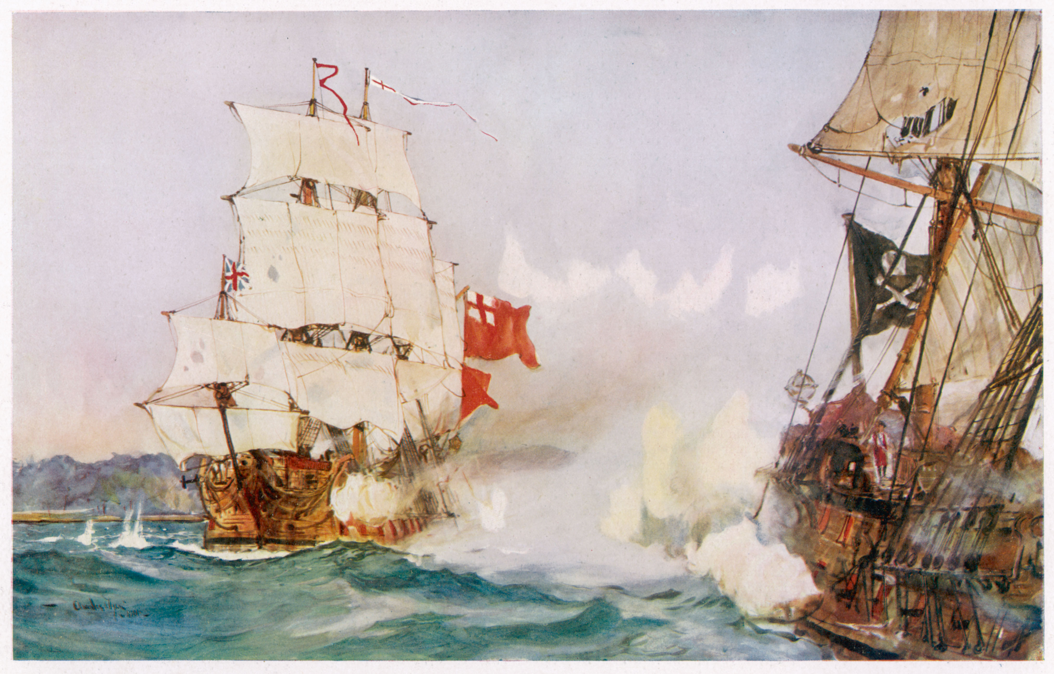 Pirates: the Royal Navy and the suppression of maritime raiding ...