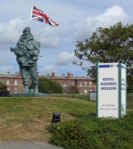 1 Yomper - Falklands Commemorative Statue