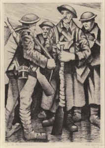 A Group of Soldiers 1917
