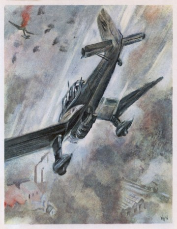 Stukas Dive Bombing