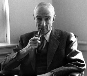 J. Robert Oppenheimer 1904 ? 1967. American theoretical physicist and professor of physics at the University of California,