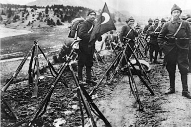 Gallipoli-Turkish-troops