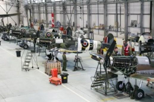 BBMF hangar 3 (Clive Rowley)