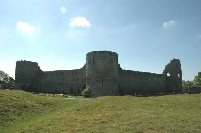 Pevensey Castle. Image: Jack Watkins