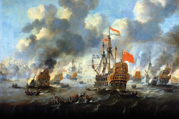 Revolutionising naval warfare in the Dutch Golden Age