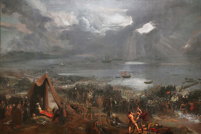 A romanticised reconstruction of the Battle of Clontarf, where Irish kings defeated a Viking invasion and saved Gaelic civilisation.