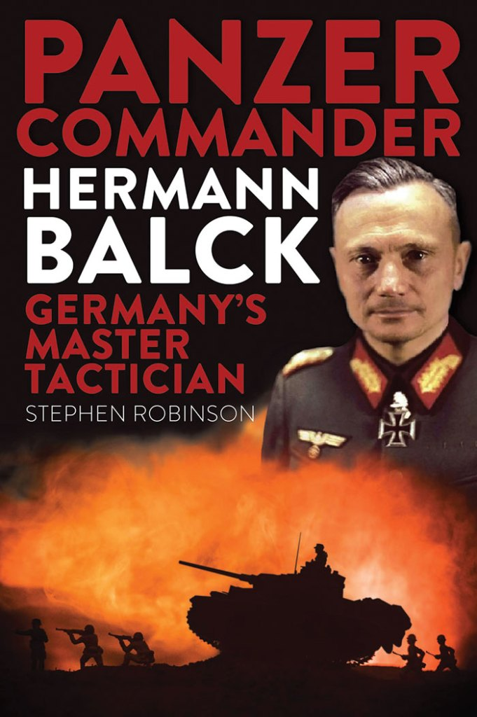 Front cover of 'Panzer Commander Hermann Balck: Germany's master tactician'