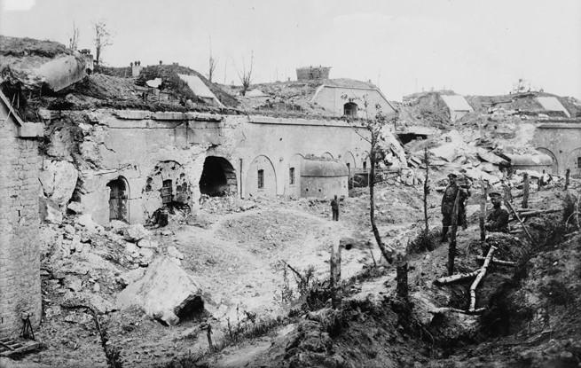The garrison commander ordered all the Przemysl forts destroyed before the fortress-city was surrendered to the Russians.