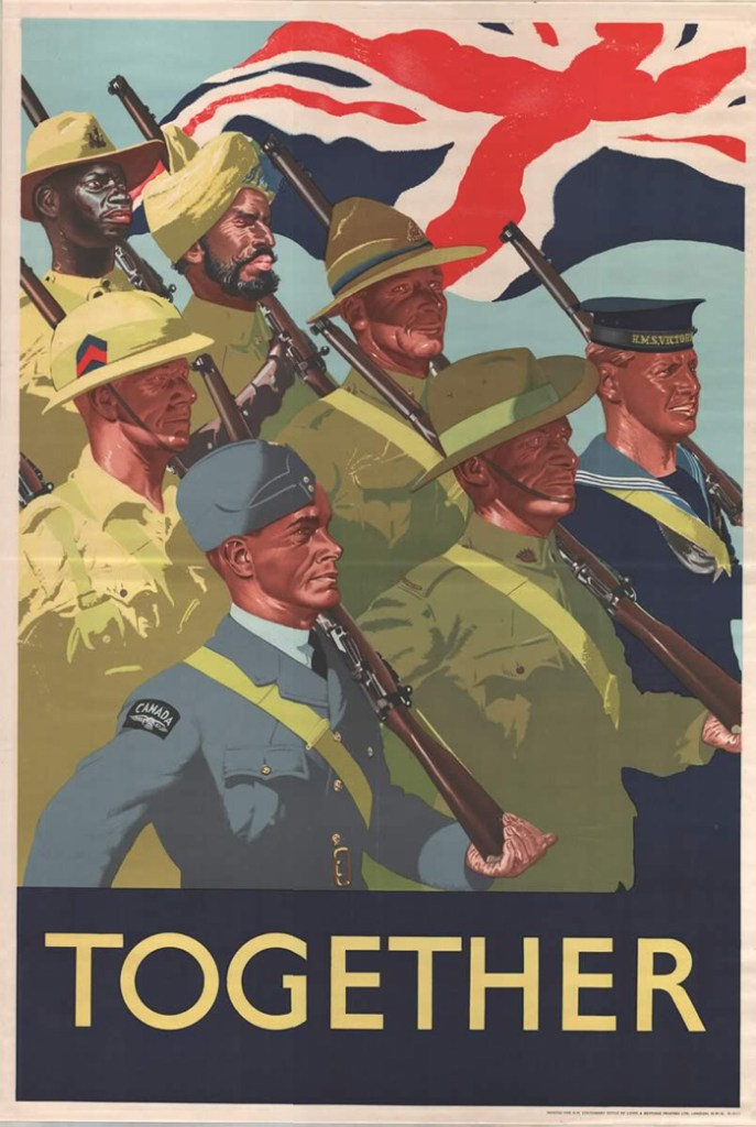 British Commonwealth recruitment poster.