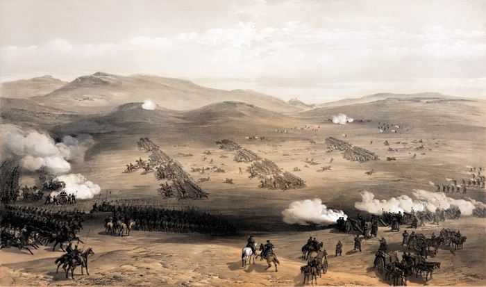 The Charge of the Light Brigade on  25 October 1854. Ever since, the event has become synonymous with deadly military incompetence.