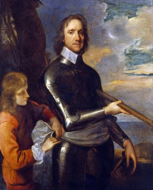 Oliver Cromwell c. 1649 by Robert Walker.
