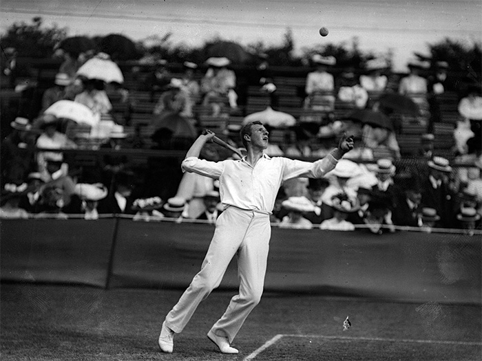 With his commitment to healthy living and fitness, Wilding revolutionised what was once known as a 'gentleman's sport'.