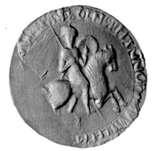 The obverse of William the Conqueror's great seal. Medieval seals were marks of identity and authority. They were impressed on wax and then attached to documents to confirm their authenticity.