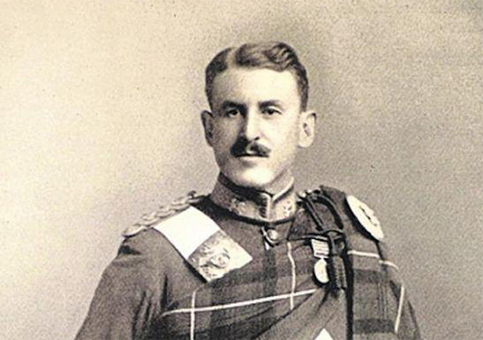 Captain Halswelle of the Highland Light Infantry. He described the misery of the First World War shortly before his death.