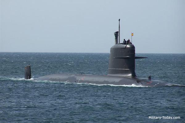 Submarino Scorpène (http://www.military-today.com)