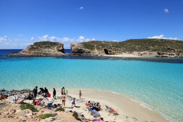 Western Mediterranean Cruise Military and Veteran Discount Blue Lagoon Comino Western Mediterranean
