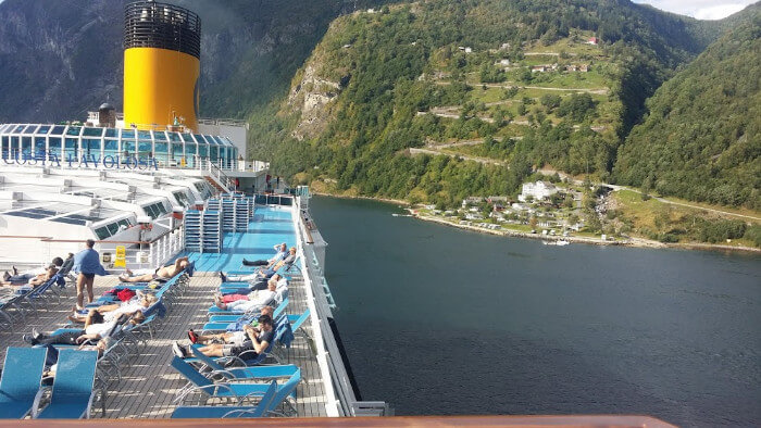 Costa cruise deals for military and veterans Costa Ship Favolosa