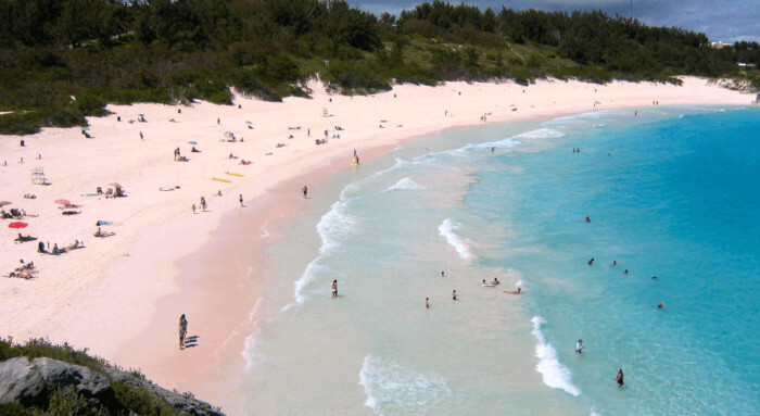 Horseshoe Bay Beach Bermuda Cruise the Caribbean with a Military and Veteran Discount