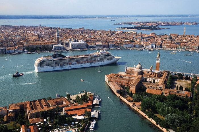 MSC Cruises Ship Venice Spring Break Cruise Deals for Military Families in Europe