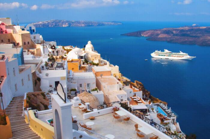 military discount cruises Santorini-Eastern-Mediterranean-Military-Cruise-Deals