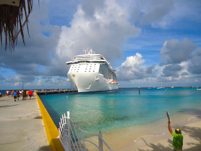 Walk Off Ship In Grand Turk Cruise the Caribbean with a Military and Veteran Discount