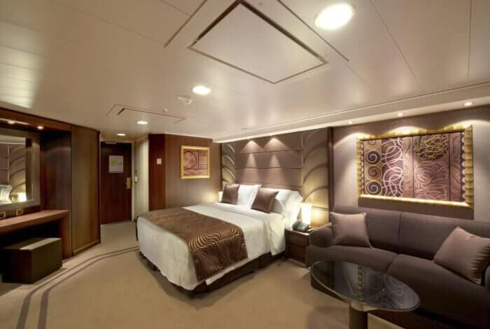Yacht Club Cabin On MSC