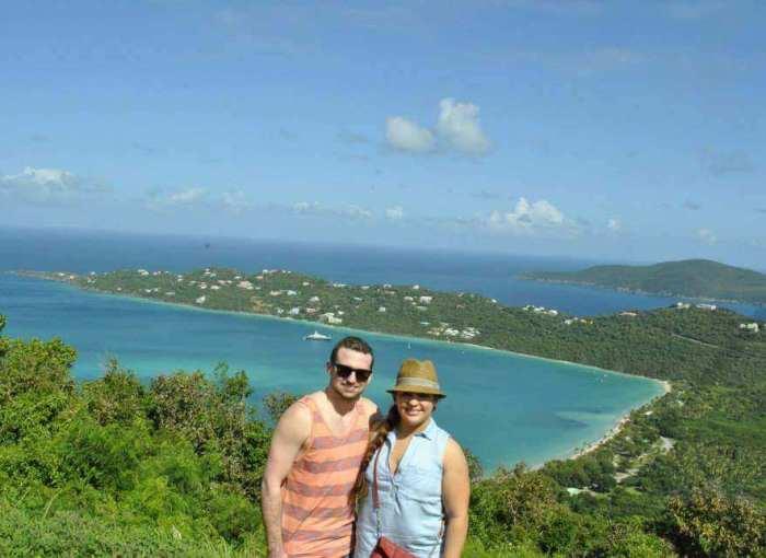 Tasha And Justin at a Cruise Port