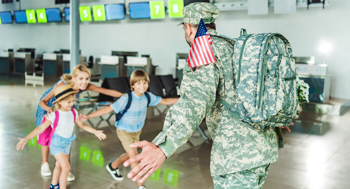 cruise discounts for military stationed abroad welcome home daddy