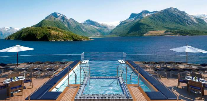 Luxury Cruise Discounts for Military and Veterans Infinity Pool Viking Luxury Military Cruise Deals