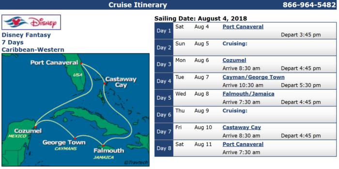 Disney Cruises with Military Discounts Disney Fantasy Aug 4