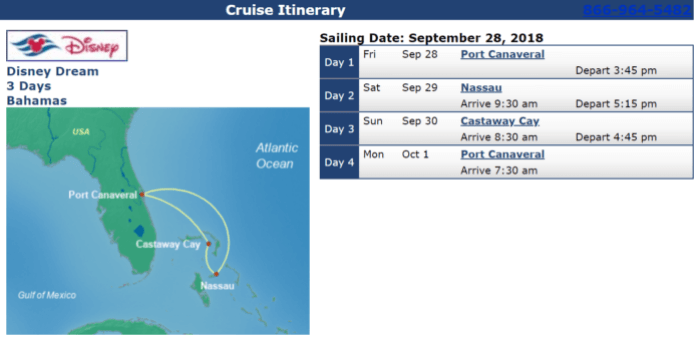 Disney Cruises with Military Discounts Disney Dream Sep 28