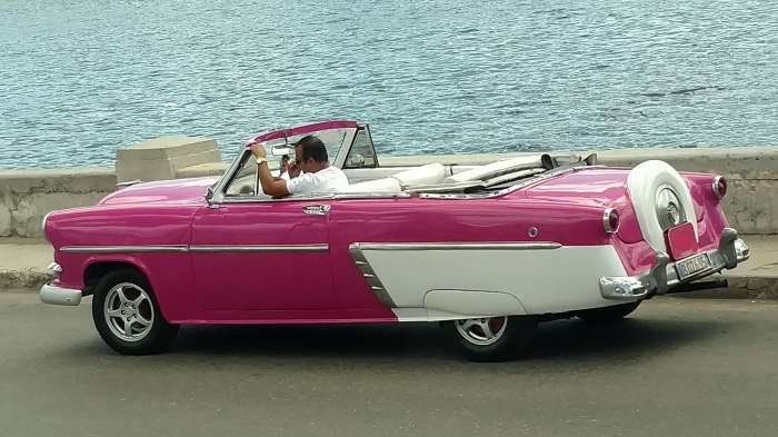 Classic car Havana Cuba Cruise for Military and Veterans