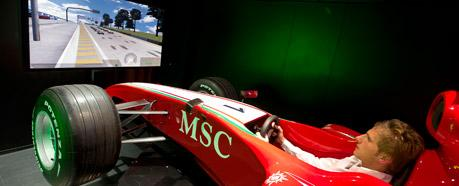 F1 Simulator MSC
