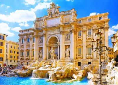 Trevi Fountain Rome Italia