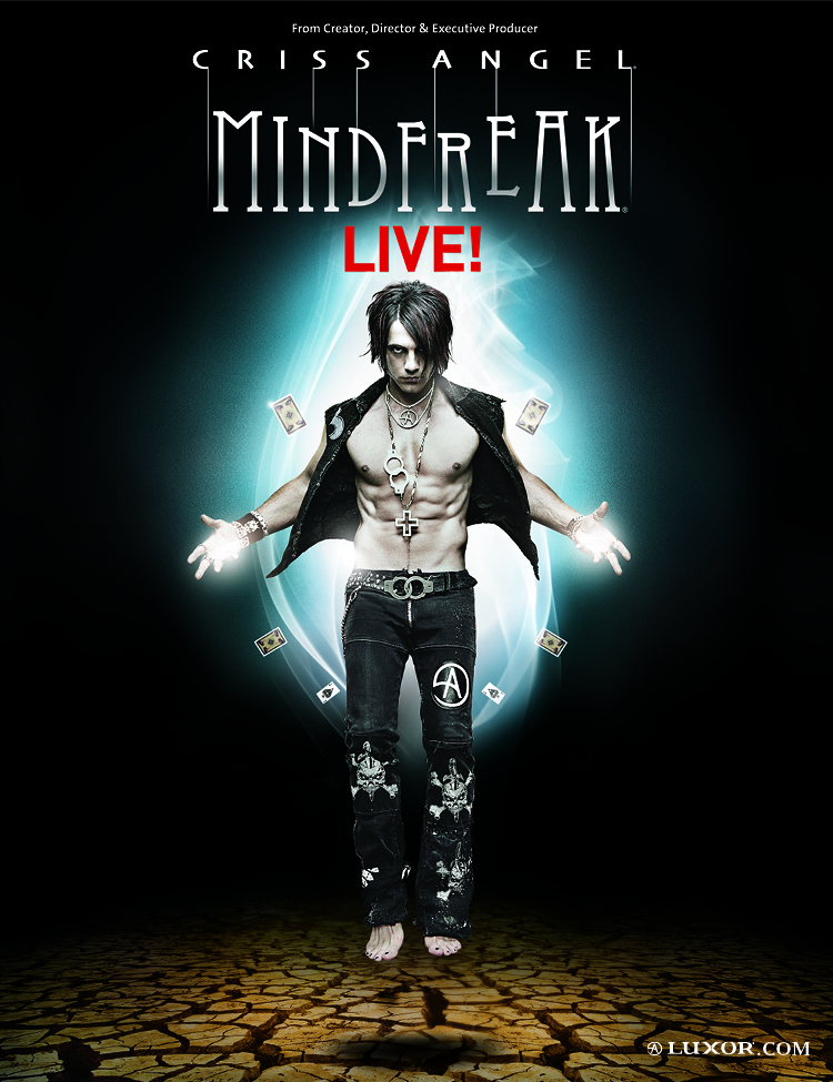Criss Angel new poster