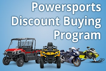 grouping of ATVs, utility vehicles, motorcycles, and snowmobile