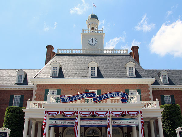 the american adventure at epcot s world showcase military disney