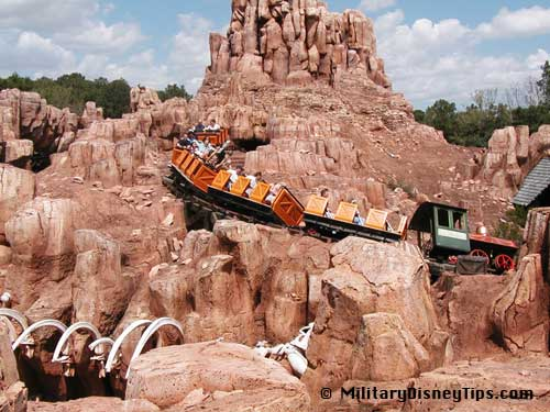Patriotic Disney - Frontierland - Big Thunder Mountain