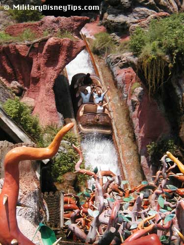 Patriotic Disney - Frontierland - Splash Mountain