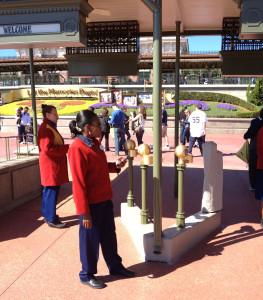 RFID Scanners at Walt Disney World