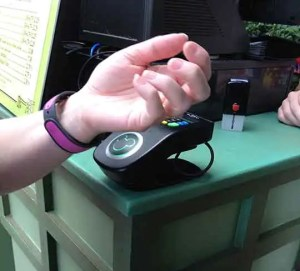 Purchasing with a Magic Band